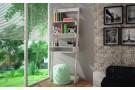 Estantería+escritorio escalera | Tres niveles | Color blanco