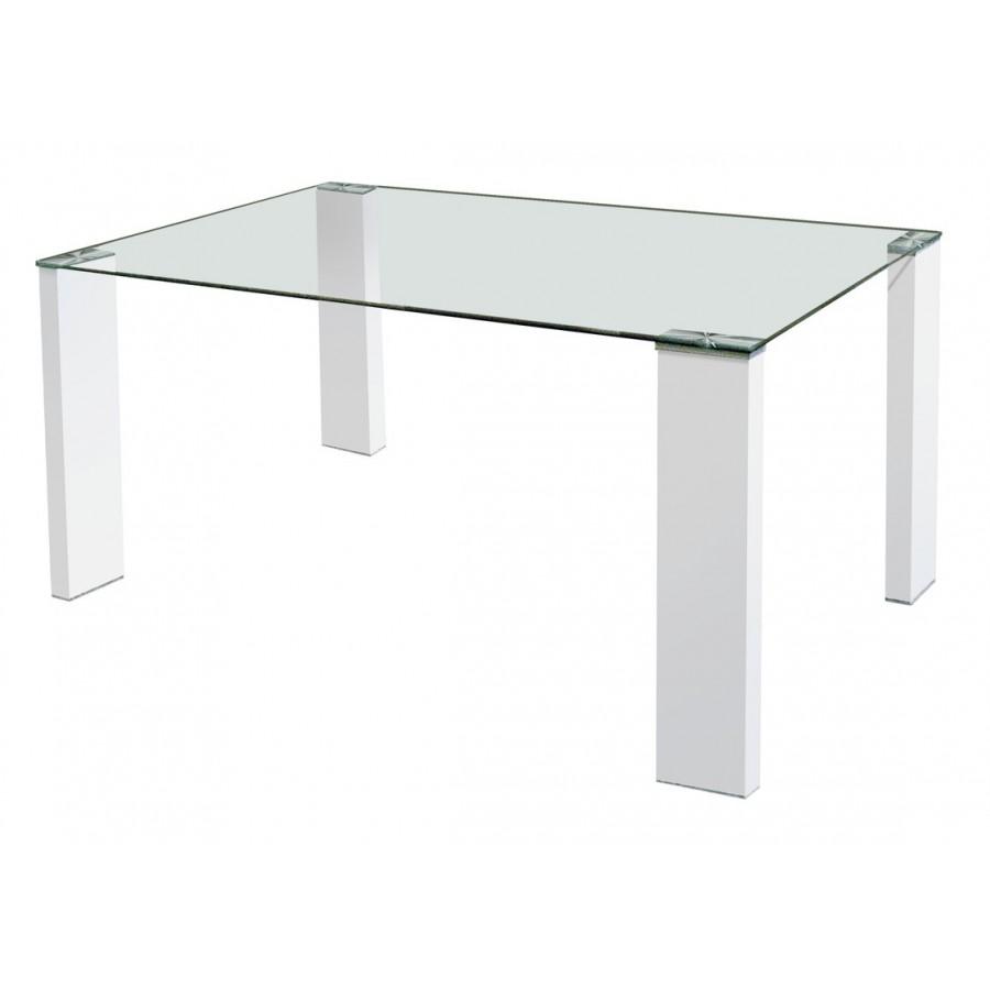 mesa-de-comedor-tapa-cristal-patas-metalicas-dos-colores
