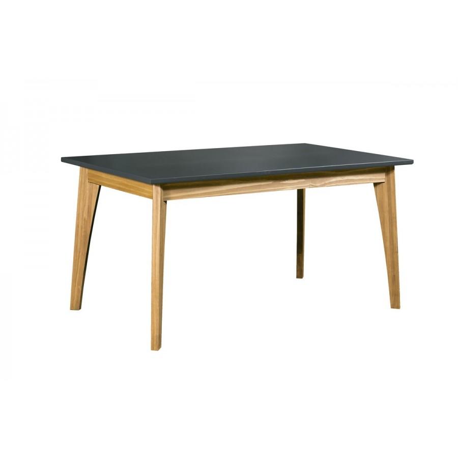 mesa-de-comedor-color-pizarra-patas-color-haya